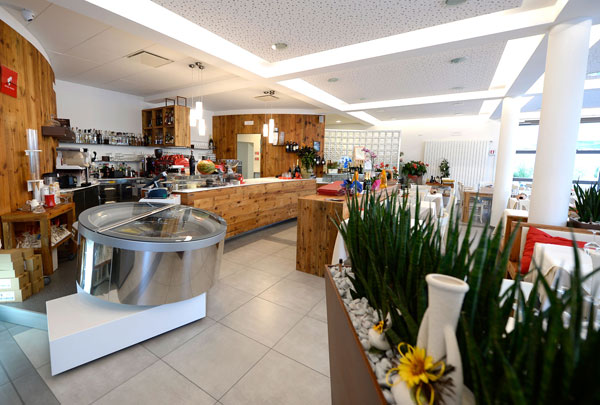 Restaurant eingerichtet L'Anfora - Tn