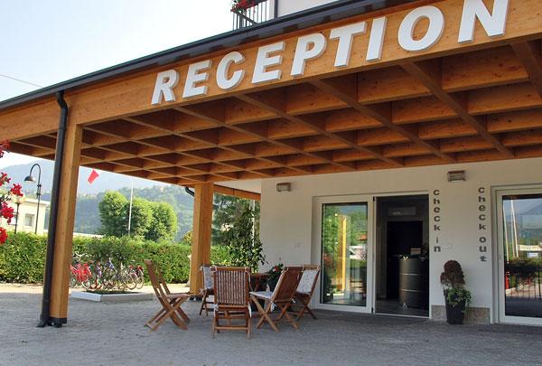 Reception, camping Mario - Caldonazzo (Tn)
